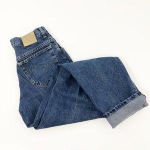 VTG Lee High Rise Mom Jeans Straight Leg size 29